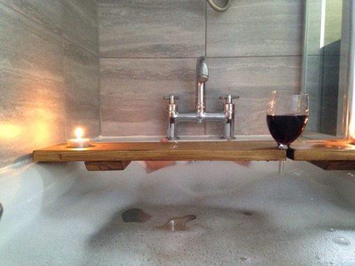 Wooden Bath Tray